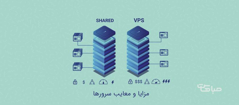 مزایا و معایب هاست اشتراکی و vps