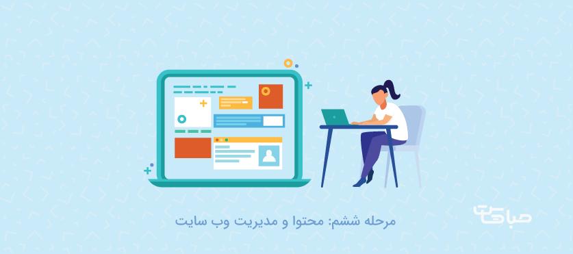 محتوا و مدیریت وب سایت