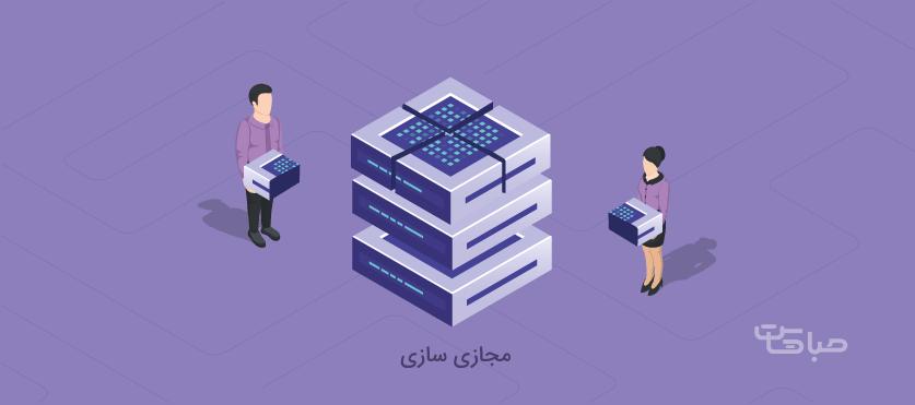 مجازی سازی ( virtualization )