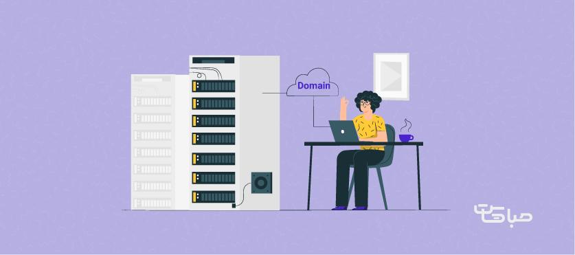 اتصال دامنه به سرور مجازی از طریق A record